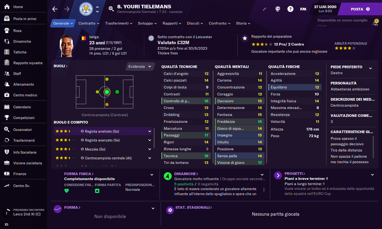 Football Manager Touch 2021